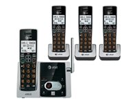 AT&T CL82413 Cordless phone answering system with caller ID/call waiting
