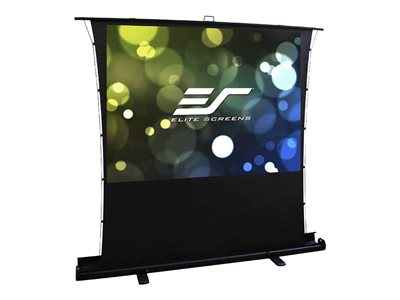 Elite Screens ezCinema Tab-Tension Series Projection screen with floor stand floor-standing