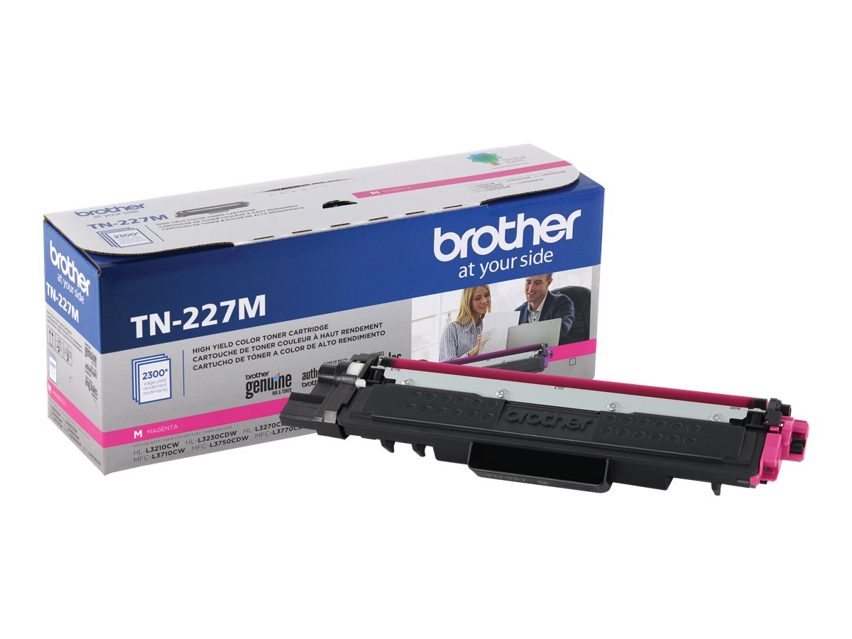 Brother TN-227M - High Yield - magenta - original - toner cartridge