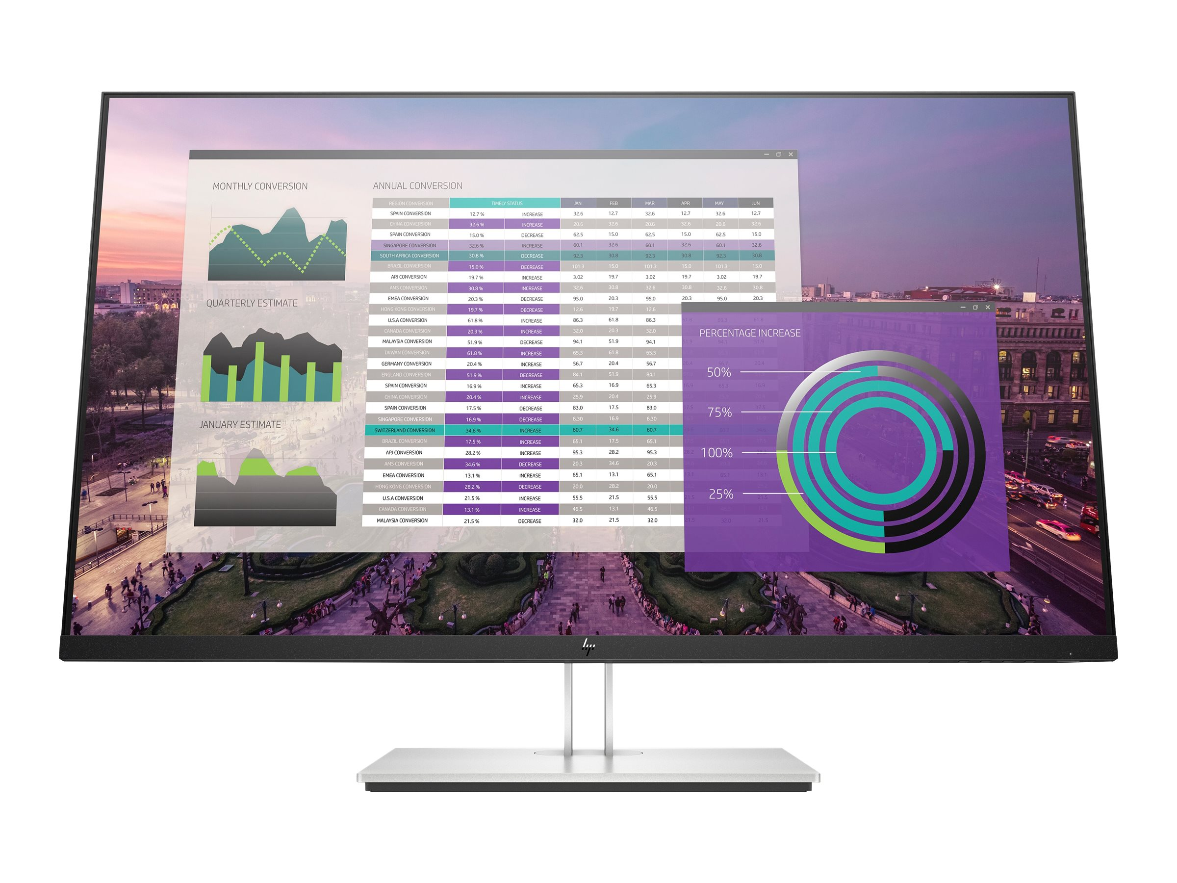 HP EliteDisplay E324q - LED monitor - 31.5""