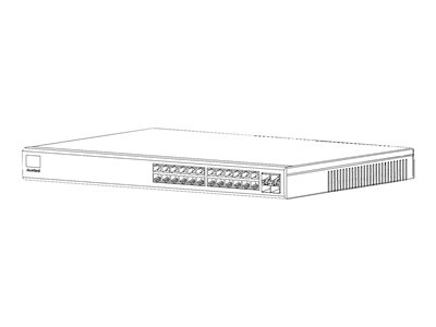 Riverbed SteelConnect SDI-S24 Switch 24 x 10/100/1000 (PoE+) + 4 x Gigabit SFP