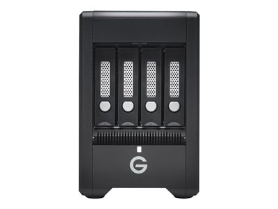G-Technology G-SPEED Shuttle with Thunderbolt 3 GSPSTH3NB240004BBB Hard drive array 24 TB