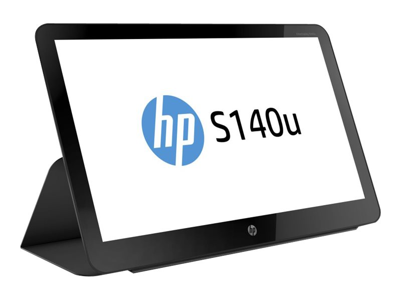 "HP EliteDisplay S140u - Écran LED - 14"" - portable - 1600 x 900 - TN - 200 cd/m² - 400:1 - 8 ms - USB - noir"