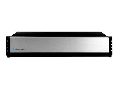 Milestone Husky M50 NVR 8 channels 8 x 4 TB networked 2U rack-mountable