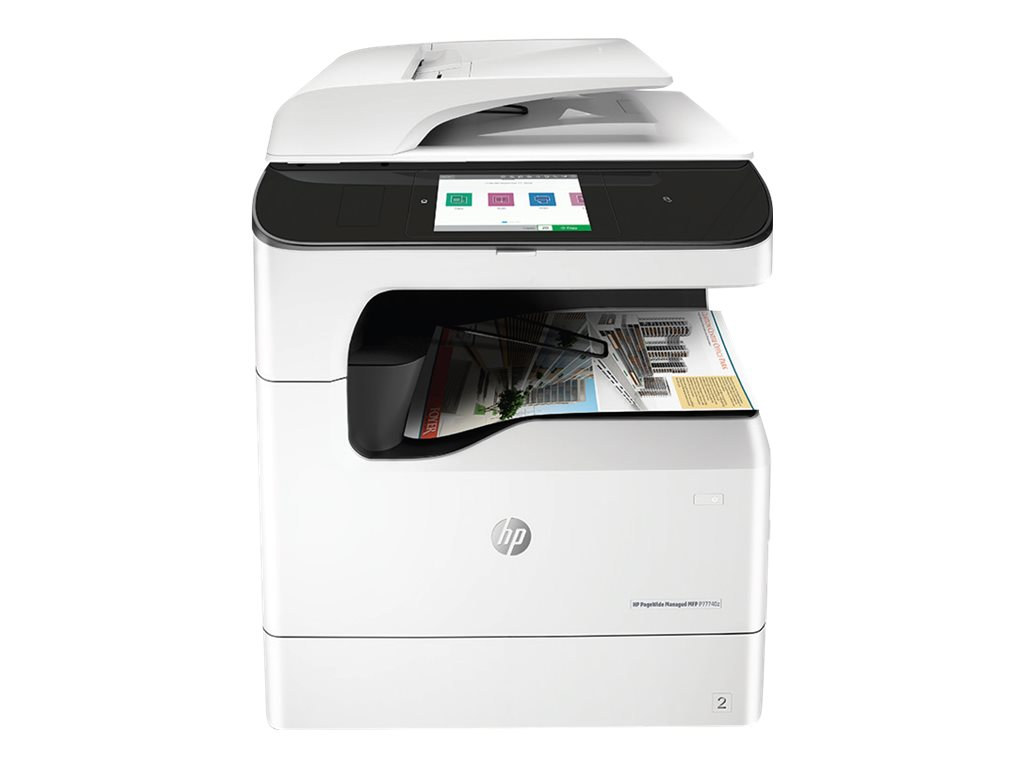Copieur PageWide Managed Color MFP HP P77740z vue avant