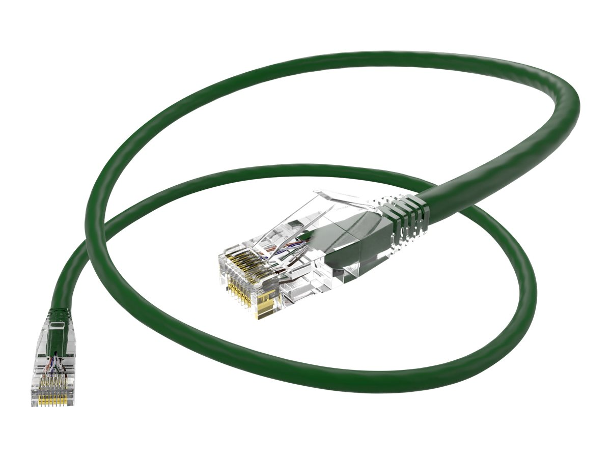Oncore ClearFit patch cable - 2.4 m - green