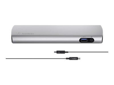 Belkin Thunderbolt 2 Express Dock HD - Docking Station - (Thunderbolt) - GigE