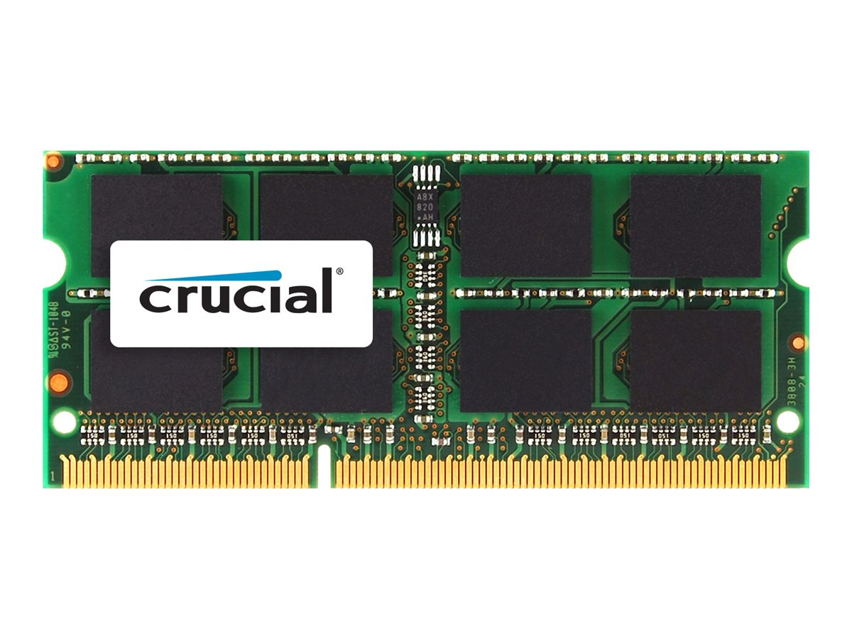 Crucial - DDR3 - 4 GB - SO DIMM 204-PIN - 1600 MHz / PC3-12800 - CL11