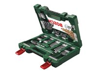 Bosch V-Line - Screwdriver, drill and socket bit set