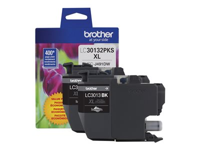 Brother LC30132PKS 2-pack High Yield black original ink cartridge