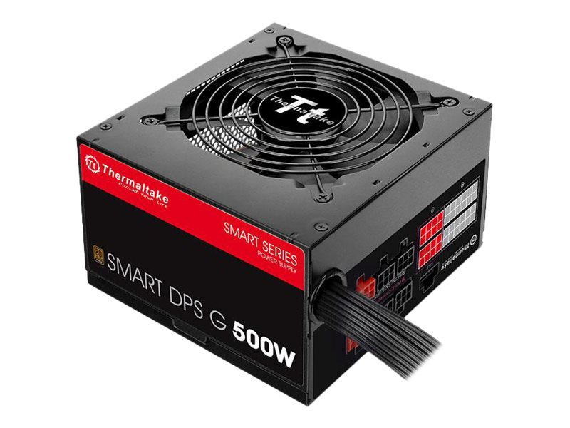 Thermaltake SMART DPS G 500W - Stromversorgung (intern) - ATX12V 2.31/ EPS12V 2.92 - 80 PLUS Bronze - Wechselstrom 100-240 V - 500 Watt