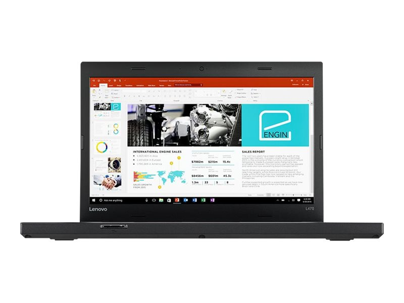 "Lenovo ThinkPad L470 - 14"" - Core i5 6200U - 8 Go RAM - 256 Go SSD - French"