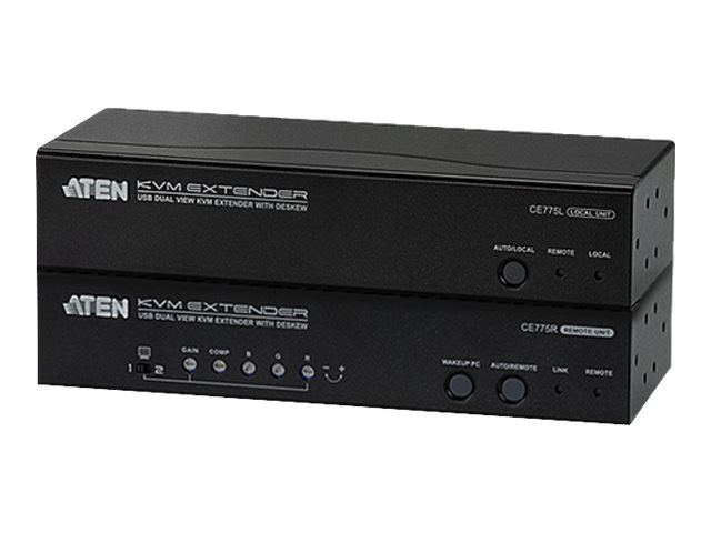ATEN CE 775 Local and Remote Units - KVM / audio / serial extender