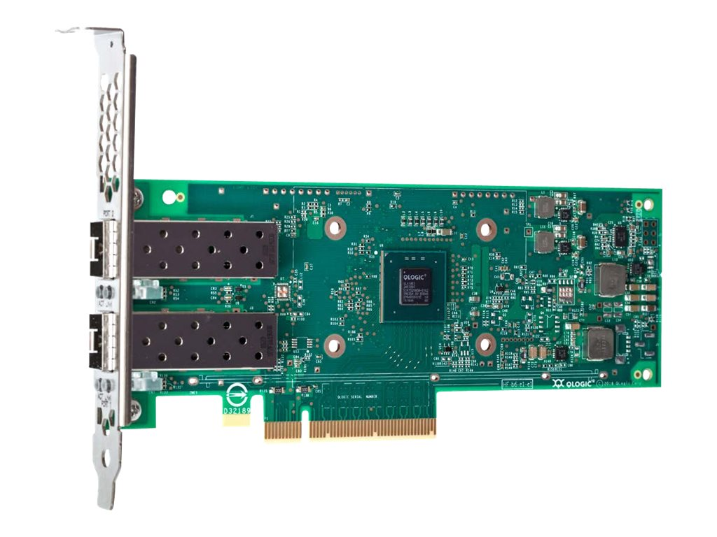 Lenovo ThinkSystem QLogic QL41262 - network adapter - PCIe 3.0 x8 - 25 Gigabit SFP28 x 2