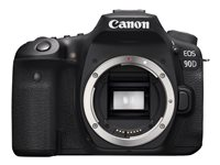 Canon EOS 90D Digital camera SLR 32.5 MP 4K / 30 fps body only Wi-Fi,