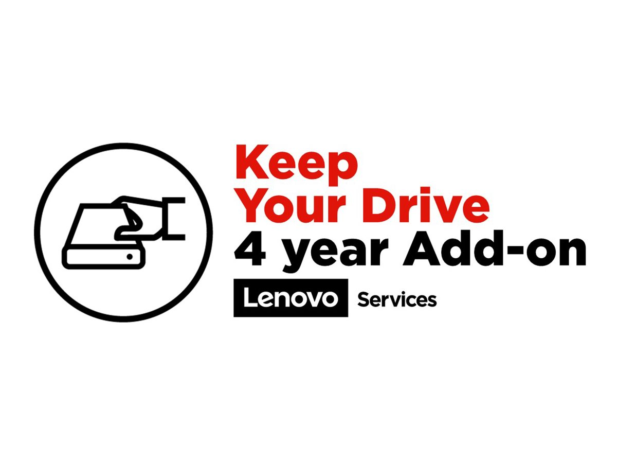 Lenovo Keep Your Drive Add On - extended service agreement - 4 years