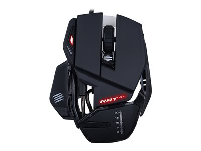 Mad Catz R.A.T.4+ Mouse optical 8 buttons wired USB black