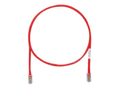 Panduit TX5e patch cable - 35 m - red