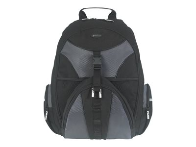Targus 15.6INCH Sport Backpack Notebook carrying backpack 15.6INCH gray, black
