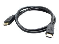 AddOn 6ft HDMI Cable HDMI with Ethernet cable HDMI (M) to HDMI (M) 6 ft black