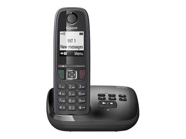Image of Gigaset AS405A - cordless phone - answering system with caller ID