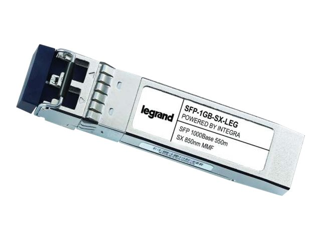 Legrand Cisco SFP-1GB-SX 1000Base-SX MMF SFP mini-GBIC Transceiver TAA - SFP (mini-GBIC) transceiver module - GigE - TA…