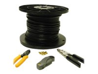C2G RG6 Coax Installation Kit - video cable - 152.4 m