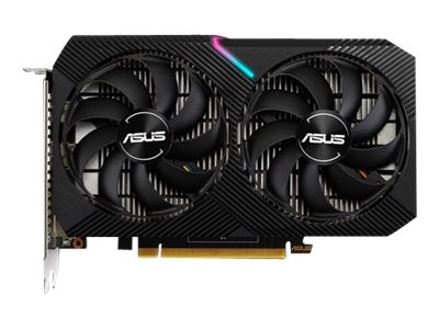 ASUS DUAL-GTX1650-O4GD6-MINI OC Edition graphics card GF GTX 1650 4 GB GDDR6