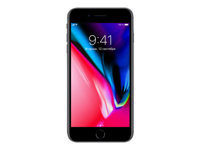 "Apple iPhone 8 Plus - Smartphone - 4G LTE Advanced - 64 GB - GSM - 5.5"" - 1920 x 1080 pixels (401 ppi) - Retina HD - 12 MP (7 MP front camera) - space grey"