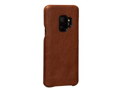 Sena LeatherSkin Back cover for cell phone full-grain leather cognac