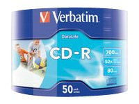 Verbatim DataLife 50x CD-R 700MB
