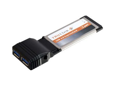 C2G TruLink 2-Port USB 3.0 SuperSpeed Express Card - USB adapter