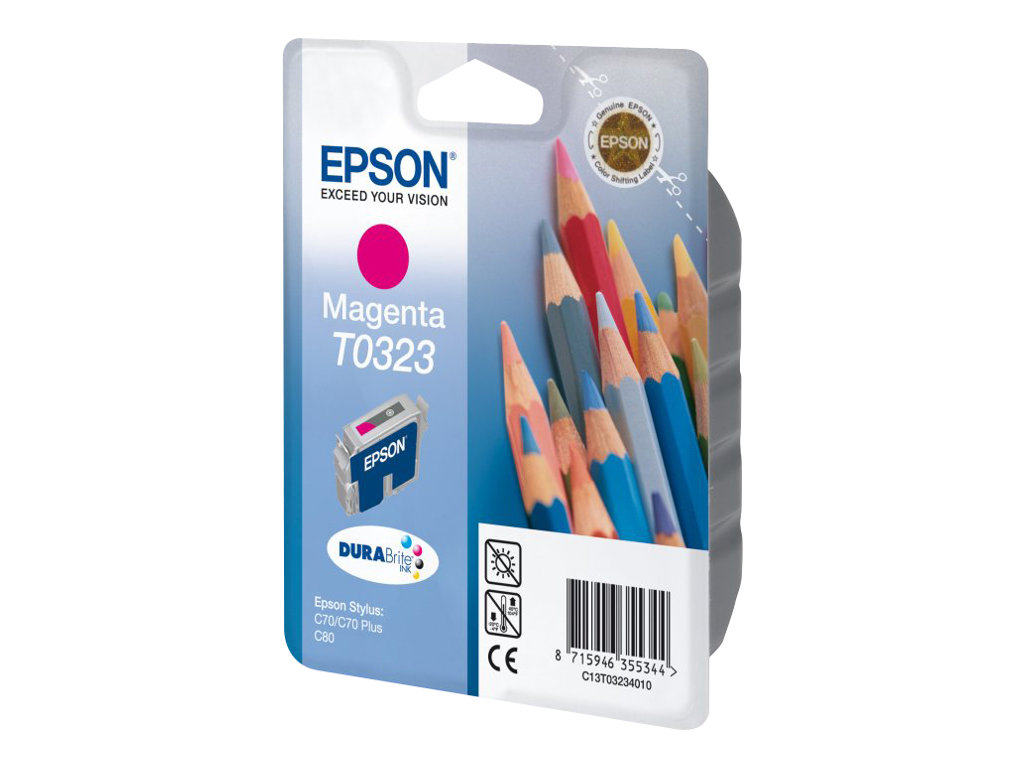 epson t0323 crayons magenta originale cartouche d 39 encre epson. Black Bedroom Furniture Sets. Home Design Ideas