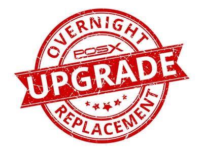 Overnight Exchange Warranty Service Upgrade Extended service agreement replacement 3 years
