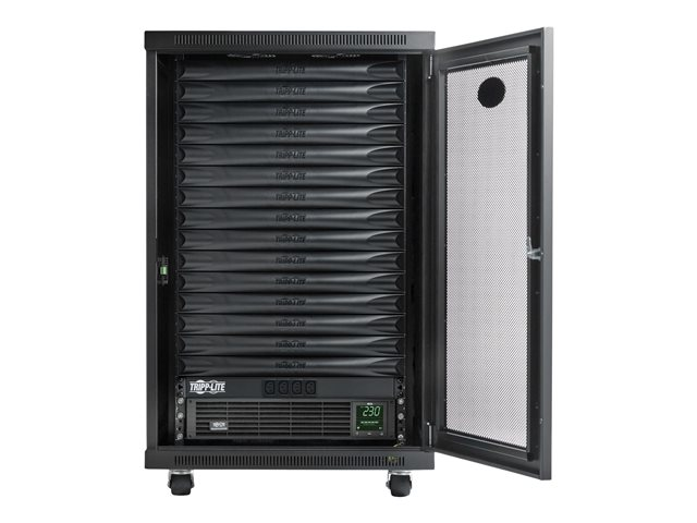 Tripp Lite EdgeReady Micro Data Center - 15U, 1.5 kVA UPS, Network Management and PDU, 230V Assembled/Tested Unit - Rack - cabinet - floor-standing - 15U - 19