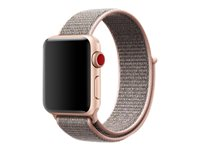 Apple 38mm Sport Loop - Bracelet de montre - 130-190 mm - sable rose - pour Watch (38 mm)