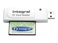 Integral USB 2.0 Single Slot CF Reader - Lecteur de carte (CF I, CF II) - USB 2.0