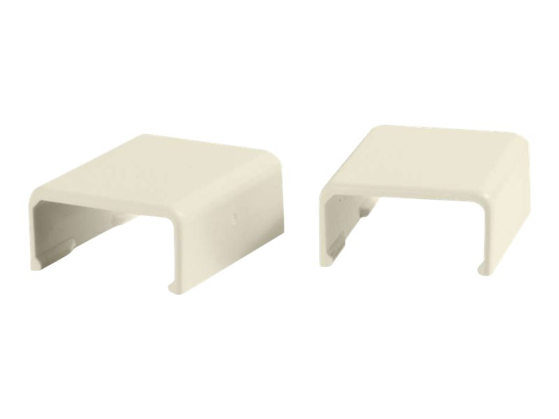 C2G 2 Pack Wiremold Uniduct 2700 Cover Clip - Ivory - cable raceway cover clip