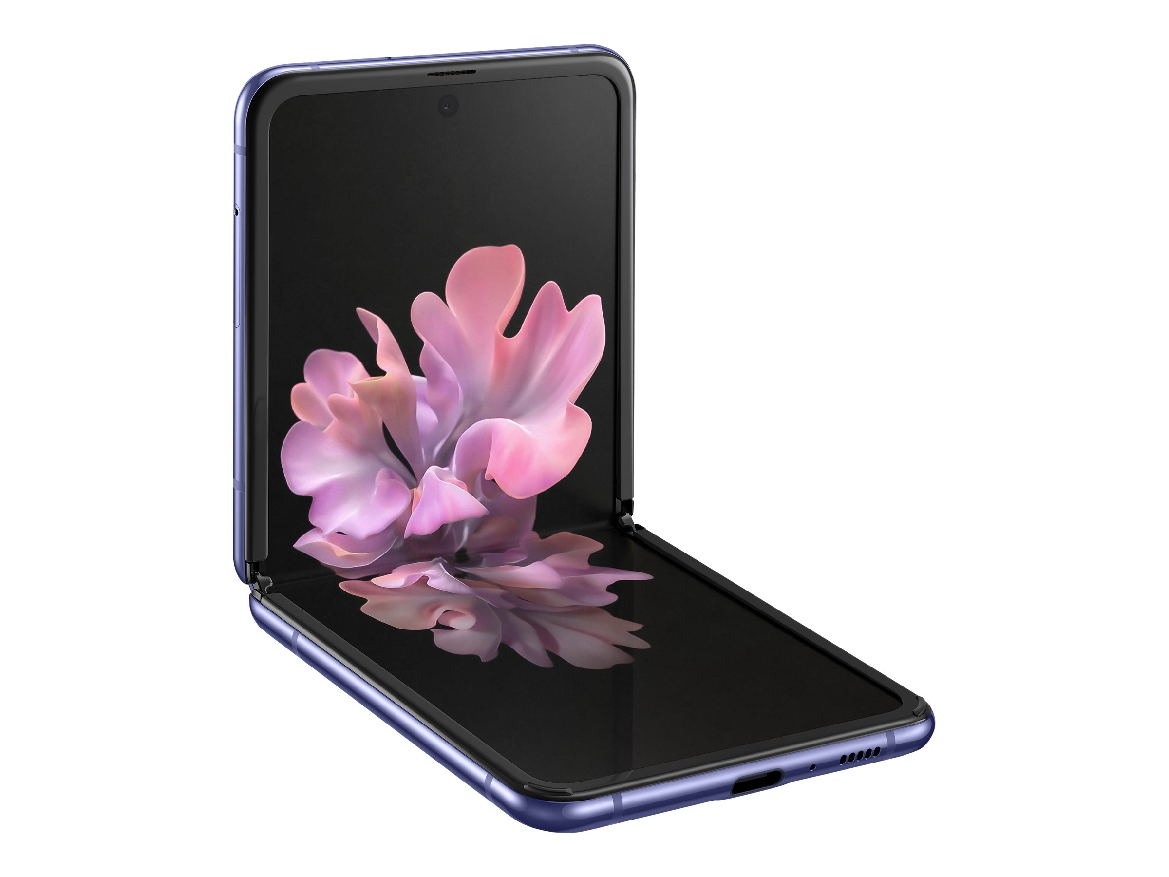 Samsung Galaxy Z Flip - mirror purple - 4G - 256 GB - GSM - smartphone