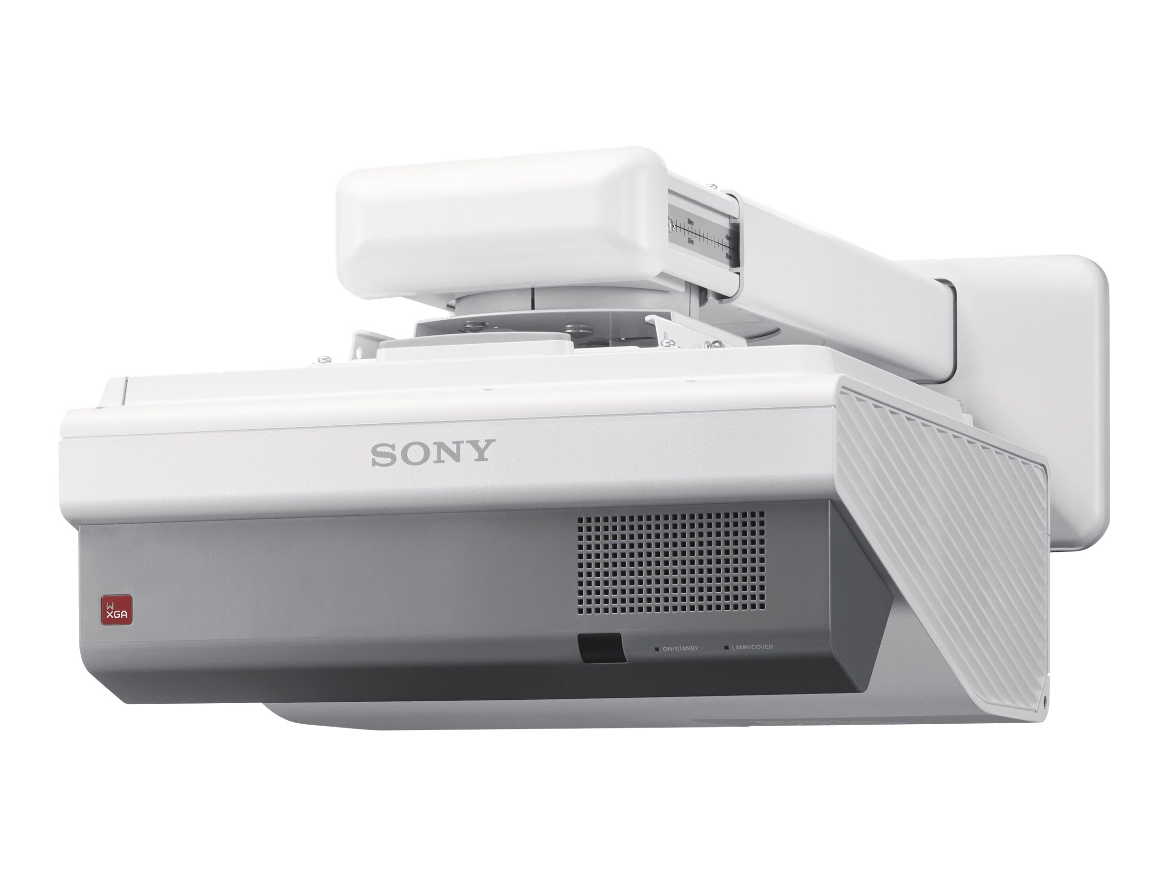 Sony VPL-SW631 - 3LCD projector - ultra short-throw - LAN - with wall mount