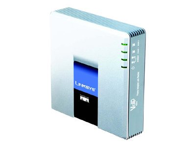 Cisco Small Business Pro SPA2102 Phone Adapter with Router VoIP phone adapter 100Mb LAN