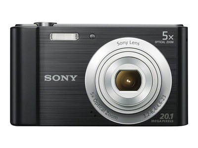 Sony Cyber-shot DSC-W800 Digital camera compact 20.1 MP 720p 5x optical zoom blac