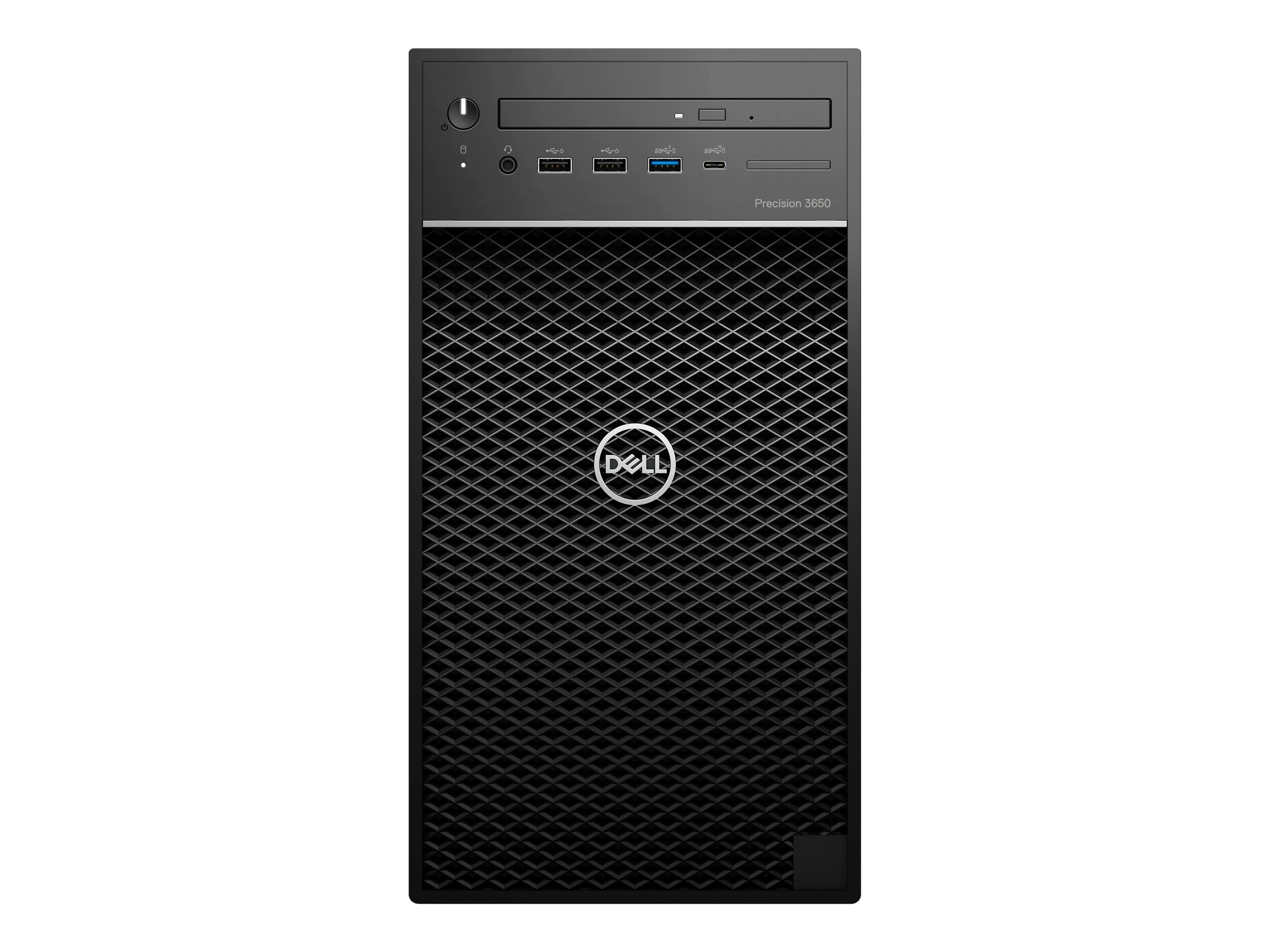 Dell 3650 Tower - MT - 1 x Core i7 10700 / 2.9 GHz - vPro - RAM 8 GB - SSD 256 GB