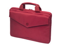 "DICOTA Code SlimCase Laptop Bag 15"" - Sacoche pour ordinateur portable - 15"" - rouge - pour Apple MacBook Pro (15.4 po)"