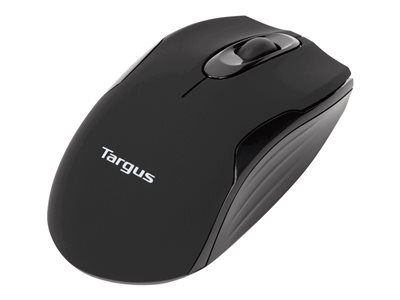 Targus W575 Mouse optical 3 buttons wireless 2.4 GHz USB wireless receiver blac image