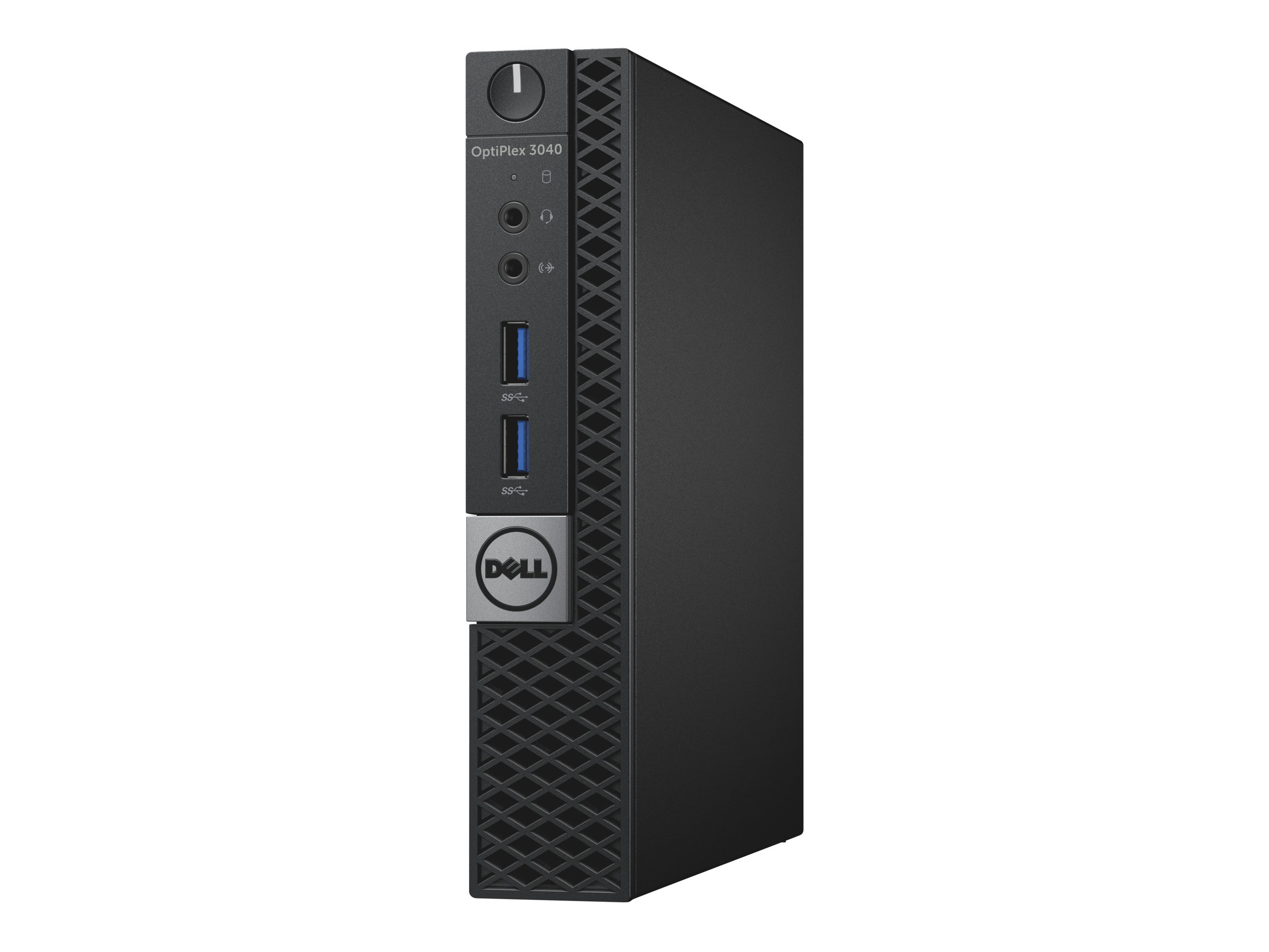 Dell OptiPlex 3040 - Micro - 1 x Core i3 6100T / 3.2 GHz - RAM 4 GB - HDD 500 GB - HD Graphics 530