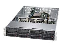 Supermicro SuperServer 5028R-WR Server rack-mountable 2U 1-way RAM 0 MB SATA