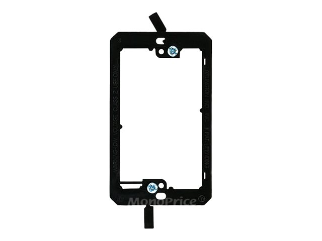 Monoprice Low Voltage Mounting Bracket - plate mount adapter