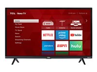 TCL 32S325 32INCH Class (31.5INCH viewable) 3-Series LED TV Smart TV Roku TV 72