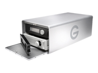 G-Technology G-RAID Removable GRARTH2EB160002BAB - Hard drive array - 16 TB - 2 bays (SATA-600) - 2 x HDD 8 TB - USB 3.0, Thunderbolt 2 (external)